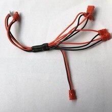 Multi-de charge Câble Pour Syma X5hw X5hc 1 Pour 5 Batterie Chargeur Rc Drone Pièces De Rechange Hélicoptère Accssory Quadcopter Kits