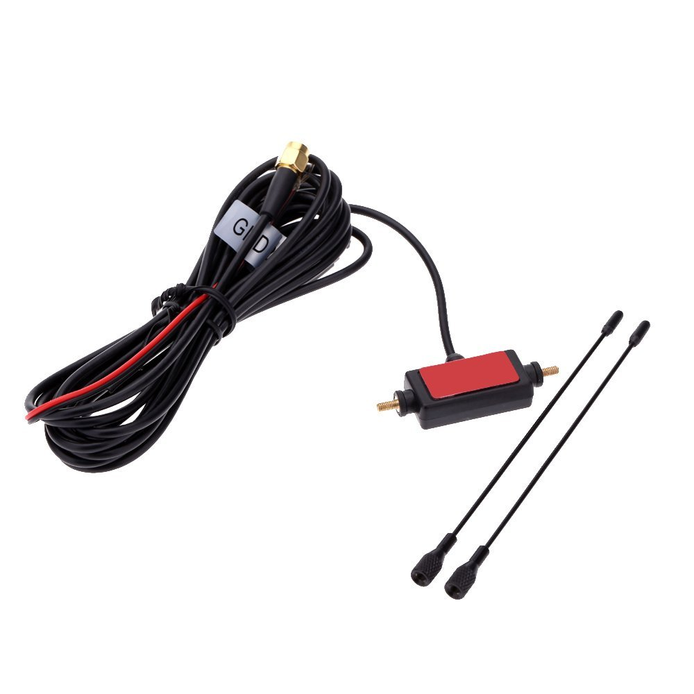 Wholesale5pcs In Car Radio Digital Tv Antenna With Amplifier Dvb T Isdb T