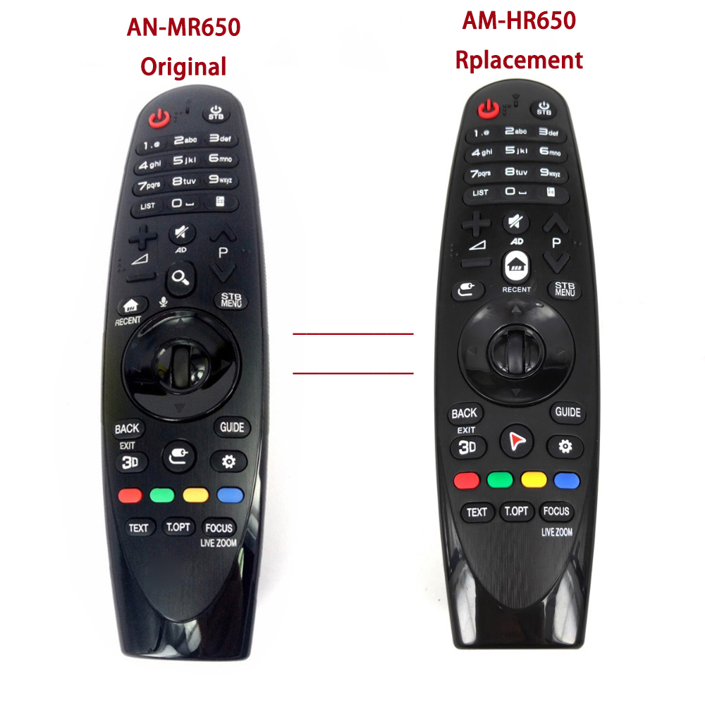Image 2 - NEW AM HR650 AN MR650 Rplacement for LG Magic Remote Control for 2016 Smart TVs UH9500 UH8500 UH7700 FernbedienungRemote Controls   -