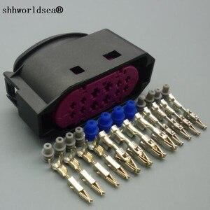 Shhworldsea Оригинальный 12 pin Автомобильный Лейн поддержка LCA разъем авто налобный фонарь вилка 1J0941165 1J0 941 165 для VW Audi Volvo