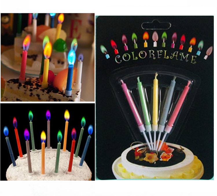 2015 Magic Relighting Candle Relight Birthday Party Fun Trick Cake Xmas Joke 10packs 5pcs Pack