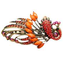 2017 NEW Jewelry Crystal Peacock Hair Clips — for hair clip Beauty Tools