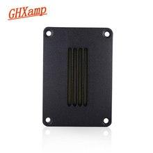 GHXAMP リボンツイータースピーカー 4ohm 30 ワット N45 ネオジム 92DB アルミパネル高音スピーカーホームシアターダイビング Deep1pc