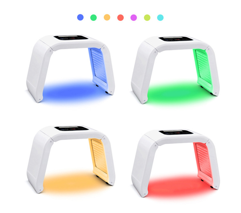 2019 New 7 Color LED PDT Light Skin Care Beauty Machine LED Facial Mask PDT Therapy For Skin Rejuvenation Acne Remover Anti-wrin