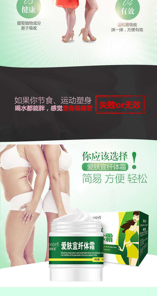 Slimming Creams Body Shaping Fat Burning Weight Loss Products Thin Waist Leg Abdomen Stomach Cream For Slimming Lose Weight 13