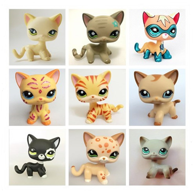 Really Rare Pet Shop Lps Toy Action Standing Collection Short Hair