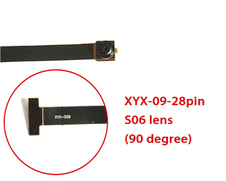 XYX-S09 28PIN  S06 S09  Lens 90 degree/140 degree xyx q simple