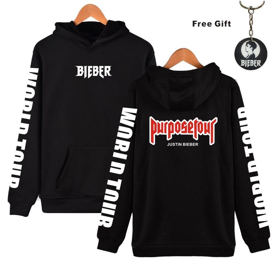 mens hoodies and sweatshirts Justin bieber purpose tour clothes cool and fashion style hoodie harajuku sweatshirt plus size 4XL