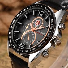 Relogio Masculino Tops Luxury Brand OUKESHI Men Watches Sports Leather Quartz Watches reloj hombre Montre Homme Clock For Mens