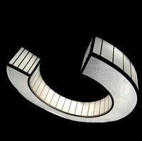 C В Форме кованого железа люстра светодиодный Плавная затемнения engineering освещение светильник светодиодный светильники лампы для дома свето