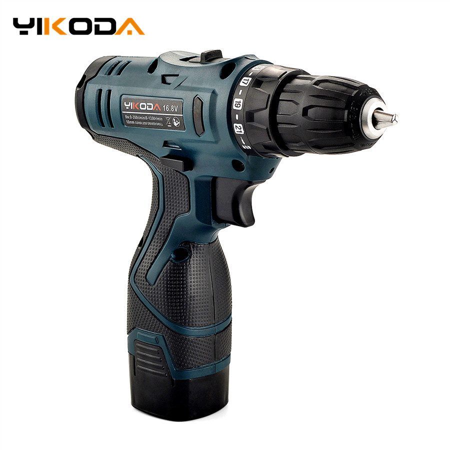 16.8V Lithium Battery Electric Drill Rechargeable Electric Screwdriver Parafusadeira Furadeira Cordless Screwdriver Power Tools