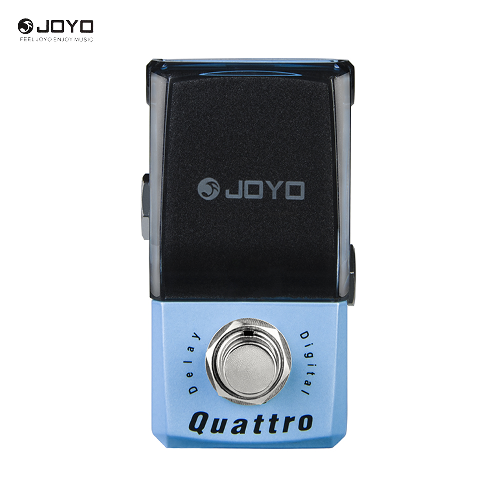 New Joyo JF-318 Quattro Digital delay Ironman Mini Series Effect Pedal Free connector педаль эффектов joyo jf 11 eq