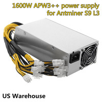Original 1600 Watt Miner Power Supply Mining Machine APW3 PSU Power Supply For AntMiner Server BTC