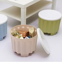 Multi-purpose Stool Organizer with Removable Lid Stackable Stool Storing Stool Chair with Storage Function(China)