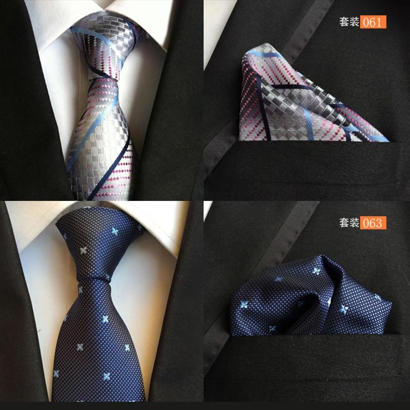 ≧QXY hommes de mode cravate mouchoir pour cravate ensemble hommes ... 5e272601ad5