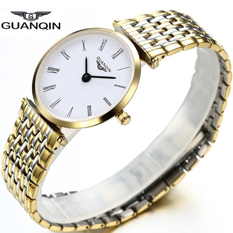 Top Brand GUANQIN Women's Quartz Watches New Fashion ...