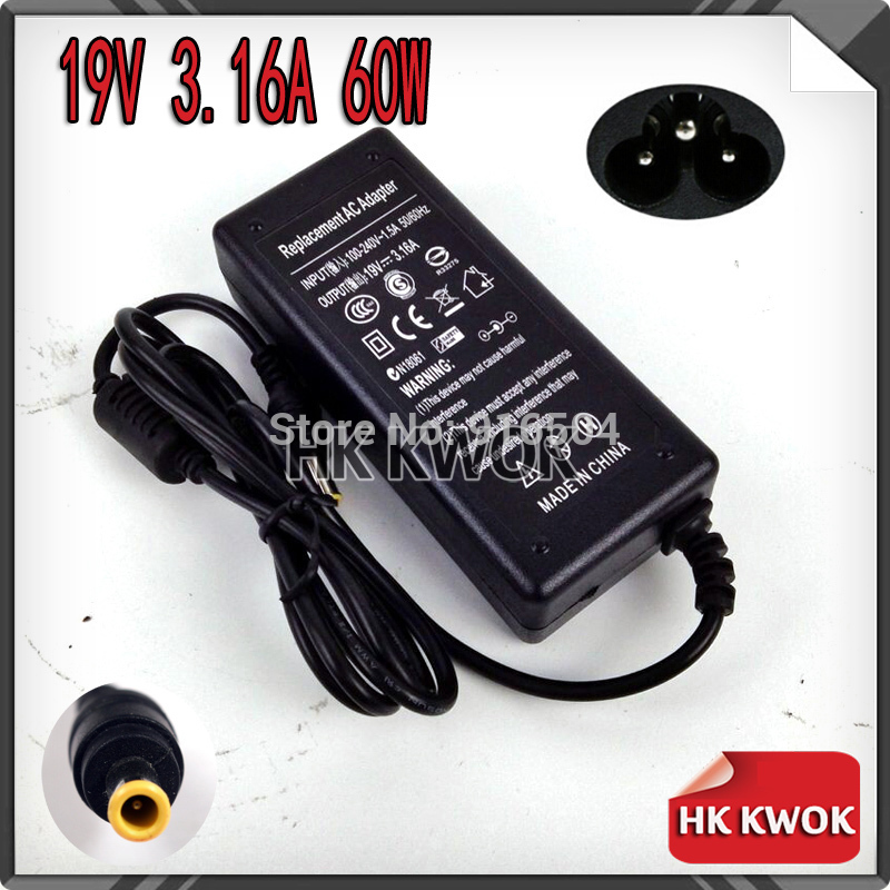 19V 3.16A 5.5 * 3.0mm AC Power Laptop Adapter För Samsung R429 RV411 - Laptop-tillbehör - Foto 2