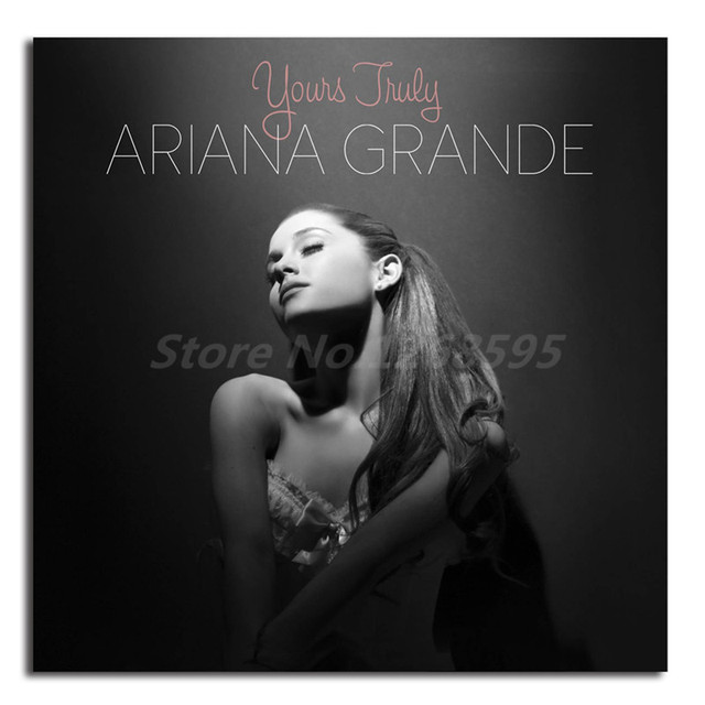 Kunst Bilder Modern , Ariana Grande Yours Truly Album Cover Canvas Posters Prints Wall Art
