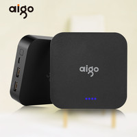 AIGO OL10400 Mini Real Capacity 10000mAh Powerbank 3 7V Large Battery Pank Dual USB Port Charger
