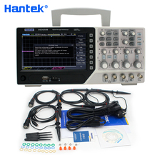 Hantek официальный DSO4254B цифровой осциллограф USB 250 МГц 4 канала ПК портативный Osciloscopio портативный диагностический инструмент