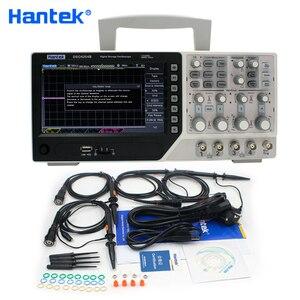 Image 1 - Hantek الرسمية DSO4254B الرقمية الذبذبات USB 250MHz 4 قنوات PC المحمولة المحمولة Osciloscopio Portatil التشخيص أداة