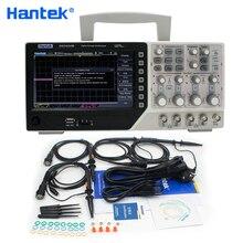 Hantek הרשמי DSO4254B אוסצילוסקופ הדיגיטלי USB 250MHz 4 ערוצים מחשב כף יד נייד Osciloscopio Portatil אבחון כלי