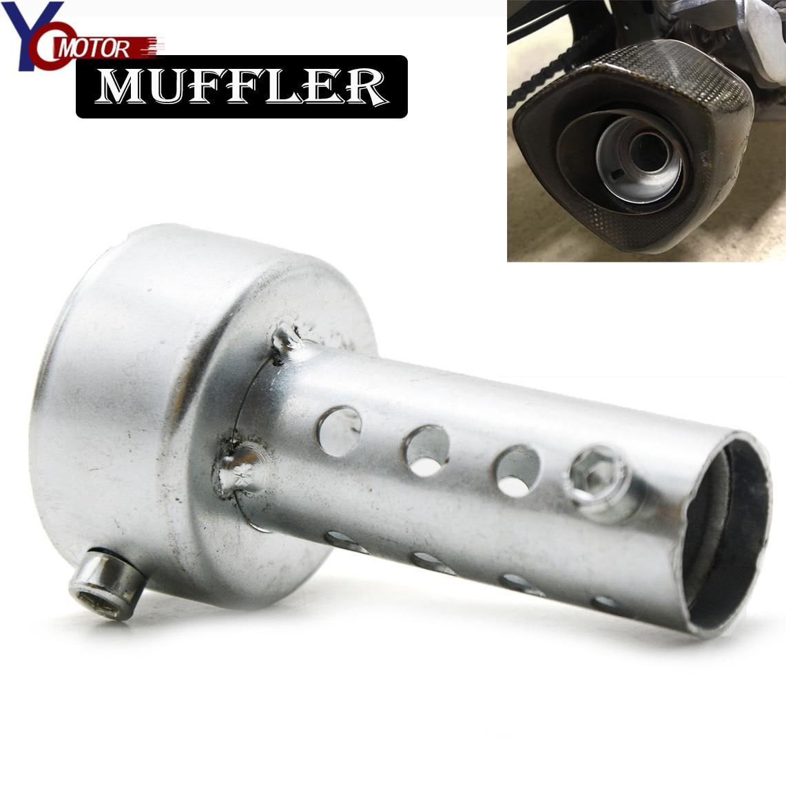 Motocicleta para DUCATI MONSTER 696 796 796 848 KX65 KX80 KX85 silenciador de escape DB Killer silenciador insertar ruido eliminador de sonido Máquina de ruido para reducir/disminuir/reducir el ruido del vecino de arriba, eliminador de ruido/eliminador de sonido/silenciador