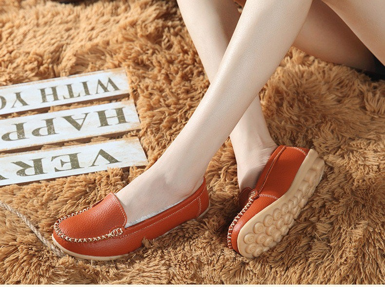 HY 918-2 (21) women's flats loafers shoes