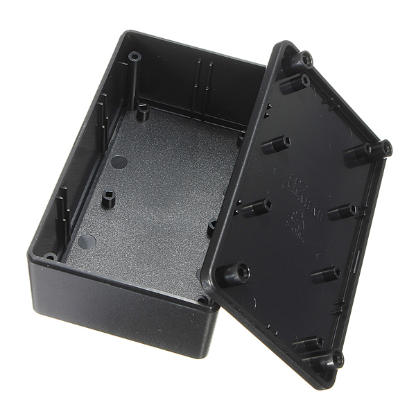 Waterproof ABS Plastic Electronic Enclosure Project Box Black 103x64x40mm Electrical Connector