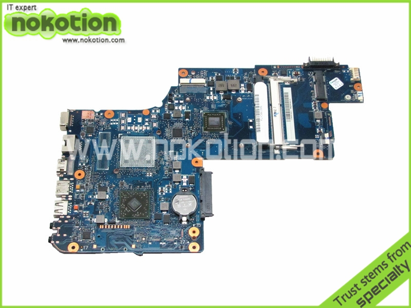 NOKOTION laptop motherboard for toshiba satellite C870D L870D DDR3 Mainboard H000042820 v000138700 motherboard for toshiba satellite l300 l305 6050a2264901 tested good