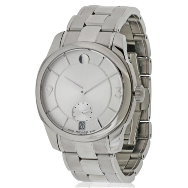 Movado LX Stainless Steel Mens Watch 0606627 movado 0606838