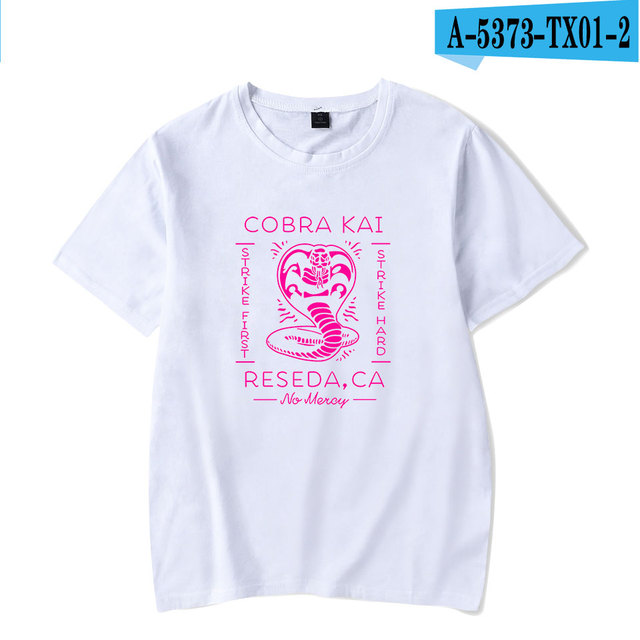 0562b51c1 Купить Топы и блузки | BTS 2018 Summer Popular Cobra Kai T-shirts ...