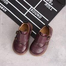 Детская обувь из натуральной кожи; Новинка года; сезон весна; детская обувь для выступлений; кожаная обувь для мальчиков и девочек; тонкие туфли из воловьей кожи; детская обувь