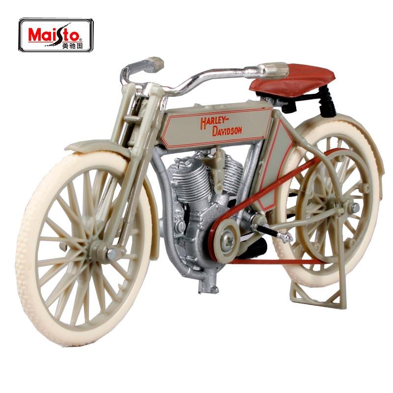 마이스토 1:18 할리 1909 트윈 5D V- 트윈 오토바이 모델 무료 배송 1 #