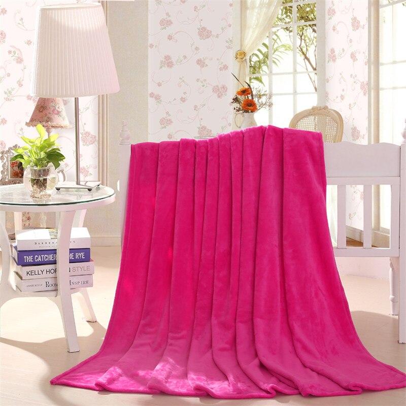 Горячая Распродажа 200x230 см Флисовое одеяло супер теплые мягкие blandets бросить зима Одеяло на диван-кровать самолет путешествия покрывала лис...