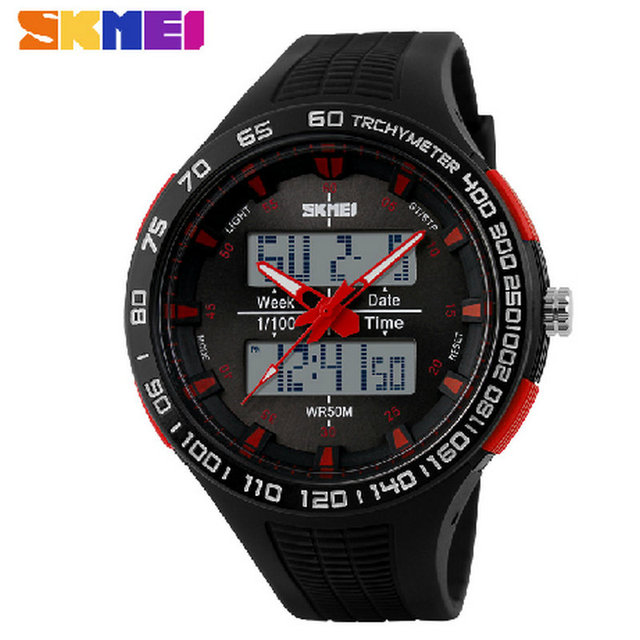 Outdoor Sports Watches Men Luxury Brand Skmei 1066 Military Led Watch Sport Bracelet Casual Wristwatches 50M Waterproof