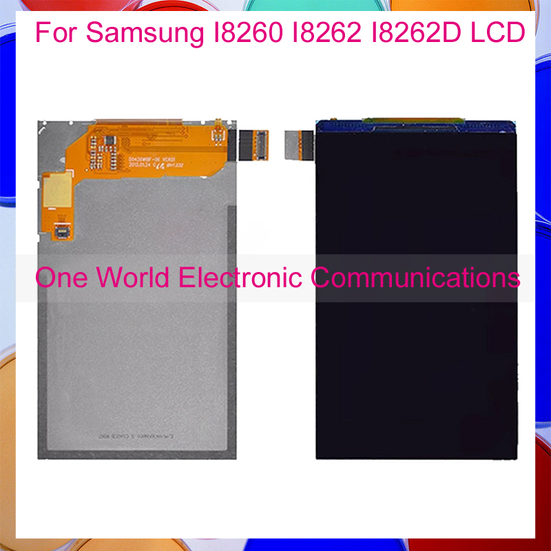 One World For Samsung Galaxy Core I8260 I8262 I8262D LCD Display Screen With Tracking Code + Free Shipping