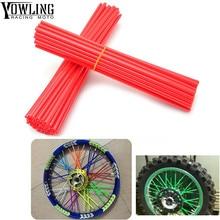 72Pcs Wheel RIM Spoke Skin Sticker Accessories Dirt Bike For KTM XC XCF XCRW EXCR EXC SXF SXR XCW SX 350 400 450 500 505 525 530