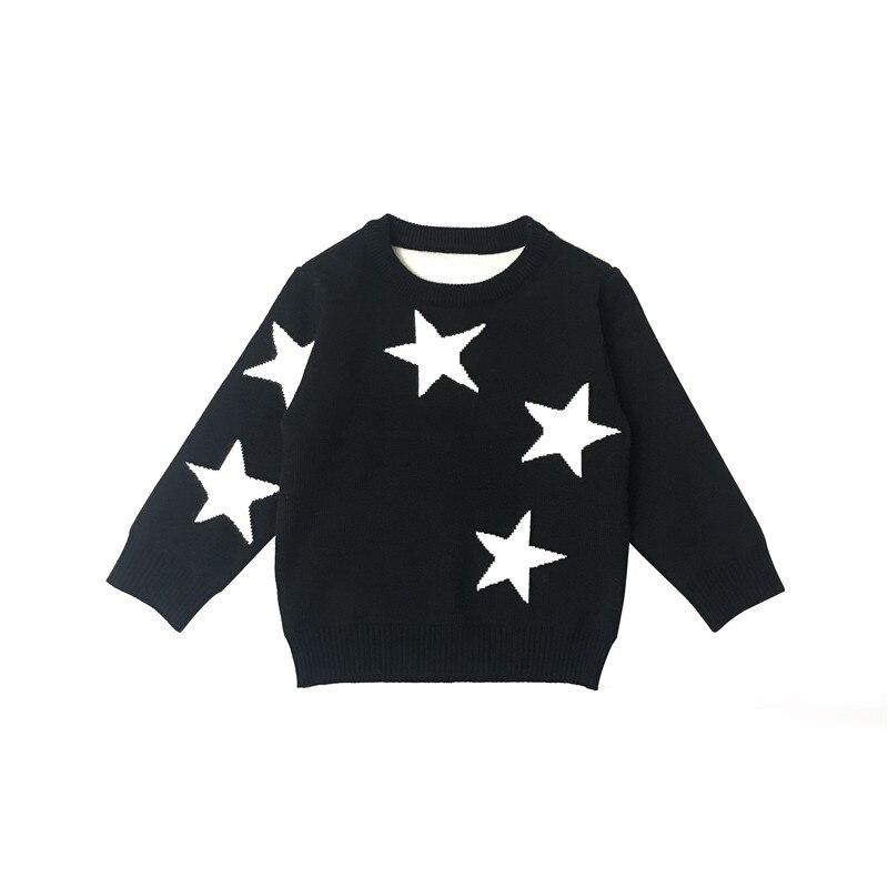 Lusonbaby мальчик девочка Круглый воротник свитер для мальчиков до года мягкие