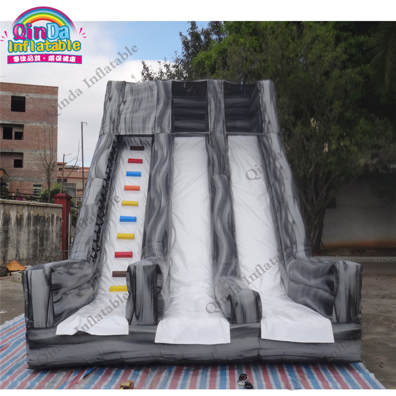 Inflatables Slides For Pool Use Children Slide Fun City An Amusement Park On Land 2017 summer funny games 5m long inflatable slides for children in pool cheap inflatable water slides for sale
