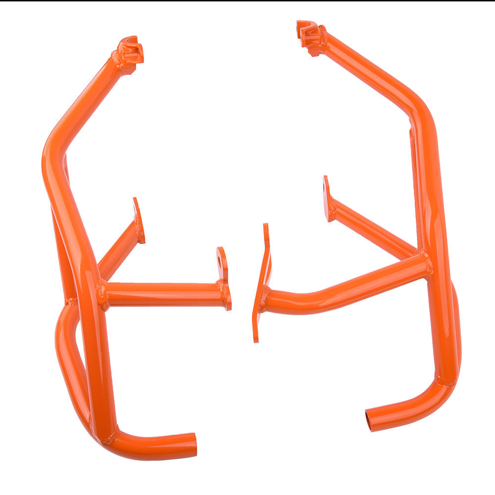 LJBKOALL Orange Engine Guards Protector Crash Bars Frame For KTM 1290 Super Duke R GT 2014 2015 2016 2017 2018 in Bumpers Chassis from Automobiles Motorcycles