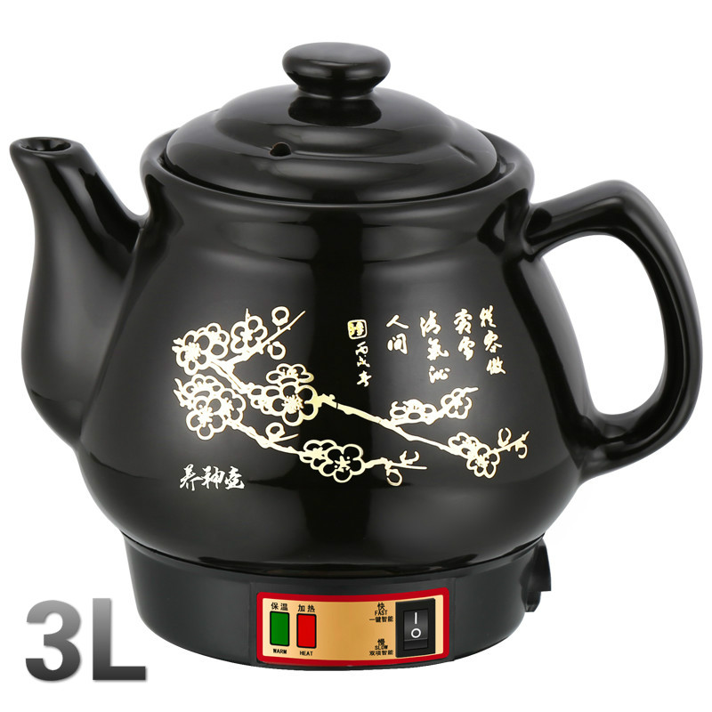 Electric kettle Full automatic decoction of ceramic pot electrocution casserole medicine for the bo automatic decocting pot chinese medicine pot medicine casserole ceramic electronic medicine pot medicine pot electric kettle