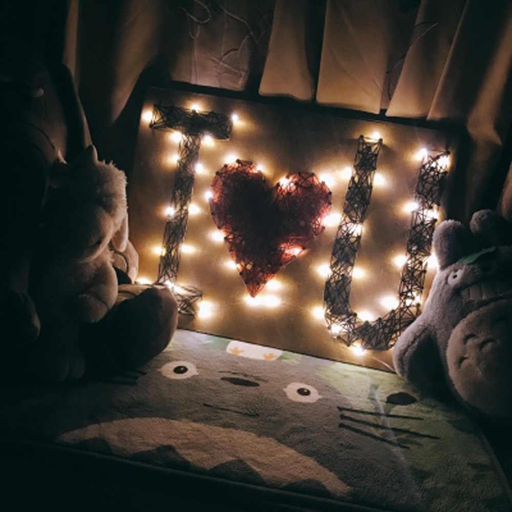 LED String lights 10 M 5 M 2 M srebrny drut wróżka światło boże narodzenie ślub strona dekoracji zasilany z baterii taśma led USB lampa