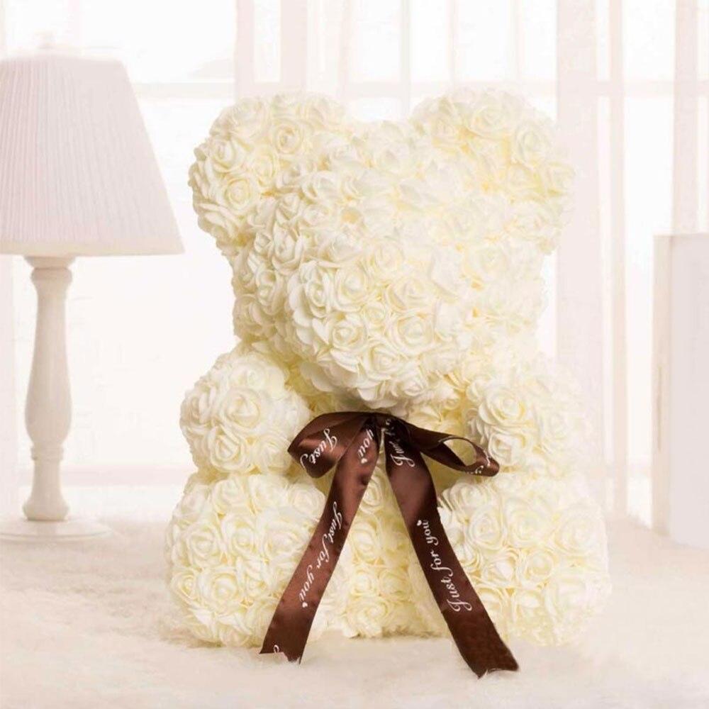 DIY розовый медведь наборы пены розовый медведь плесень Свадебная вечеринка украшения подруга юбилей день Святого Валентина подарок - Цвет: beige