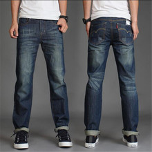 2016 New Summer Style Korean Version Of The Classic Washed Denim Leisure Wild Men's Jeans Mens Jeans