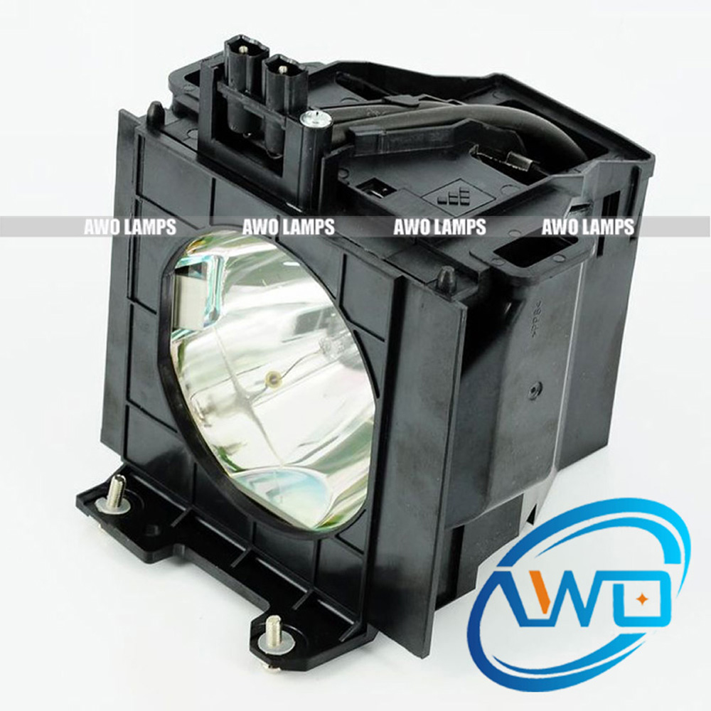 AWO ET-LAD55 Single Projector Lamp Compatible Module for PANASONIC PT-D5500U/UL PT-D5600U/UL PT-DW5000U/UL pt ae1000 pt ae2000 pt ae3000 projector lamp bulb et lae1000 for panasonic high quality totally new