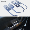 For Hyundai Creta IX25 2016 LHD Car Door Armrest Window Switch Stickers Decoration Sequins Control Panel Auto Accessories
