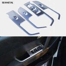 Для Hyundai IX25 Creta 2016 LHD Автомобиль Дверь Подлокотник Окно Переключатель Наклейки Украшения Блестками Панель Управления Авто Аксессуары