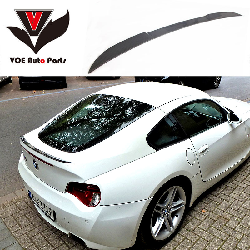 Bmw Z4 Reviews: 2005 2006 2007 2008 E86 Carbon Fiber Rear Wing Lip Spoiler