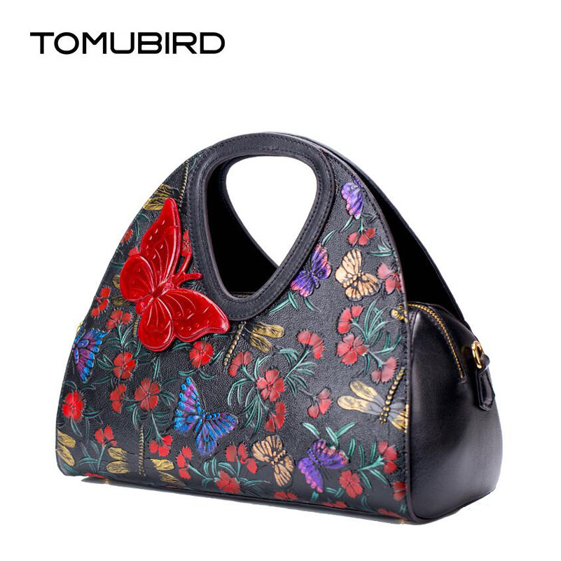2019 New women bag genuine leather brands top quality cowhide Chinese style embossed women handbags fashion leather tote bag2019 New women bag genuine leather brands top quality cowhide Chinese style embossed women handbags fashion leather tote bag